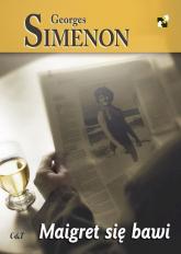 Maigret się bawi - Georges Simenon | mała okładka
