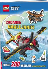 Lego City Zadanie naklejanie LAS-15 -  | mała okładka