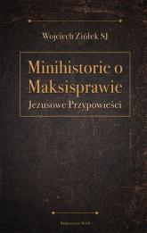 Minihistorie o maksisprawie Jezusowe Przypowieści - Wojciech Ziółek | mała okładka
