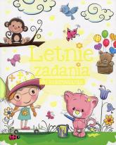 Letnie zadania do kolorowania - Anna Wiśniewska   mała okładka