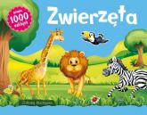 Zwierzęta Zabawy kreatywne prawie 1000 naklejek -  | mała okładka