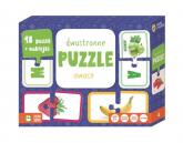 Rosnę i Poznaję dwustronne puzzle Owoce -  | mała okładka