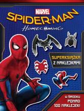 Spider-Man Homecoming Superksiążka z naklejkami -  | mała okładka