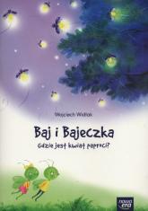 Baj i Bajeczka Gdzie jest kwiat paproci? książeczka z kodem do  Balon Blum - Wojciech Widłak | mała okładka