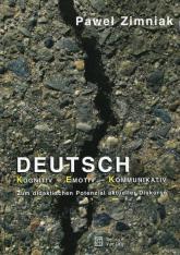 Deutsch Kognitiv Emotiv Kommunikativ - Paweł Zimniak   mała okładka
