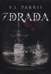 Zdrada - S.J. Parris | mała okładka