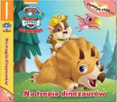 Psi Patrol Pewnego razu Tom 2 Na tropie dinozaurów -    mała okładka