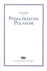 Pisma przeciw Polakom - Voltaire | mała okładka