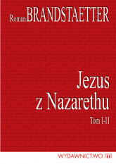 Jezus z Nazarethu Komplet 2 książek - Roman Brandstaetter | mała okładka