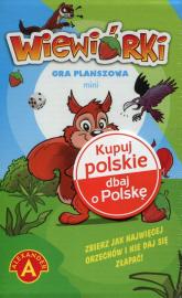 Wiewiórki mini Gra planszowa -  | mała okładka