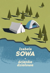 Ścianka działowa - Izabela Sowa | mała okładka