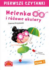 Helenka i różowe okulary Pierwsze Czytanki - Joanna Krzyżanek | mała okładka