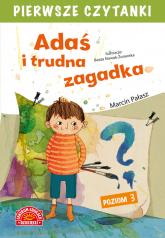 Adaś i trudna zagadka Pierwsze Czytanki - Marcin Pałasz | mała okładka