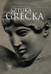 Sztuka grecka - Elżbieta Makowiecka | mała okładka
