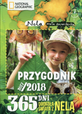 Przygodnik 2017/2018 365 dni dookoła świata z Nelą - Nela mała reporterka | mała okładka