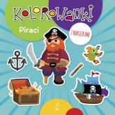 Kolorowanki z naklejkami Piraci -  | mała okładka