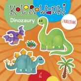 Kolorowanki z naklejkami Dinozaury -  | mała okładka