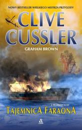Tajemnica faraona - Clive Cussler | mała okładka