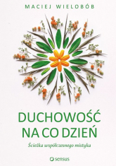 Duchowość na co dzień Ścieżka współczesnego mistyka - Maciej Wielobób | mała okładka