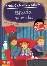 Już czytam Bracia na medal - Aniela Cholewińska-Szkolik | mała okładka