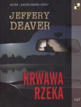 Krwawa rzeka - Jeffery Deaver | mała okładka