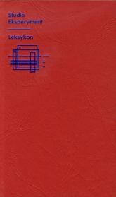 Studio Eksperyment Leksykon Zbiór tekstów -  | mała okładka