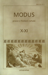 Modus Prace z historii sztuki Tom X-XI -  | mała okładka