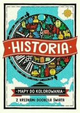 Historia Mapy do kolorowania Z kredkami dookoła świata - Imogen Williams | mała okładka