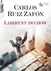 Labirynt duchów - Carlos Ruiz Zafon | mała okładka