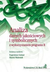 Analiza danych jakościowych i symbolicznych z wykorzystaniem programu R -  | mała okładka