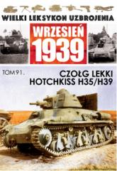 Czołg lekki Hotchkiss H.35/ H39 - zbiorowa praca | mała okładka