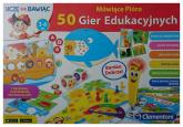 Mówiące Pióro 50 gier edukacyjnych -    mała okładka