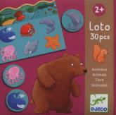 Gra edukacyjna lotto Zwierzęta -  | mała okładka