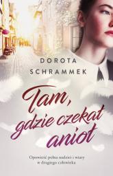 Tam gdzie czekał anioł - Dorota Schrammek | mała okładka