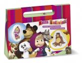 Masza i Niedźwiedź Kolekcja bajek Zestaw prezentowy -  | mała okładka