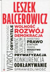 Wolność, rozwój, demokracja - Leszek Balcerowicz | mała okładka