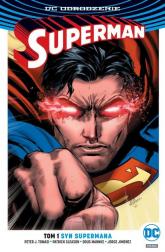 Superman Tom 1 Syn Supermana - Tomasi Peter J., Gleason Patrick, Gleason Patrick, Mahnke Doug, Jimenez Jorge | mała okładka