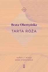 Tarta róża - Beata Obertyńska | mała okładka