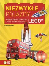 Niezwykłe pojazdy Wspaniałe maszyny powietrzne, lądowe i wodne z klocków LEGO - Warren Elsmore | mała okładka