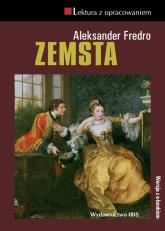 Zemsta Lektura z opracowaniem - Aleksander Fredro | mała okładka