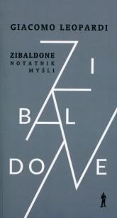 Zibaldone Notatnik myśli Wybór - Giacomo Leopardi | mała okładka