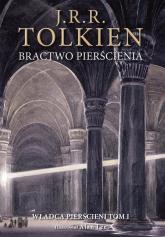 Bractwo pierścienia Wersja ilustrowana - J.R.R. Tolkien | mała okładka