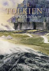 Powrót króla Wersja ilustrowana - J.R.R. Tolkien | mała okładka