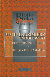 Epigrammatum liber Księga epigramatów - Maciej Sarbiewski | mała okładka