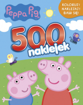 Peppa Pig 500 naklejek -  | mała okładka