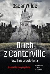 Duch z Canterville i inne opowiadania - Oscar Wilde | mała okładka