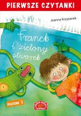 Pierwsze czytanki Franek i zielony stworek - Joanna Krzyżanek | mała okładka