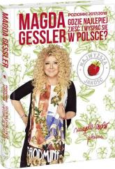 Poziomki 2017/2018 Gdzie najlepiej zjeść w Polsce - Magda Gessler | mała okładka