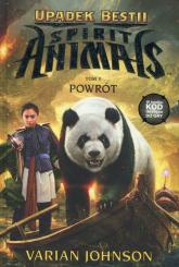 Spirit Animals Upadek Bestii Tom 3 Powrót - Varian Johnson | mała okładka