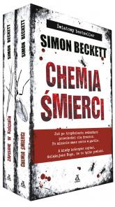 Chemia śmierci/ Zapisane w kościach Pakiet - Simon Beckett | mała okładka
